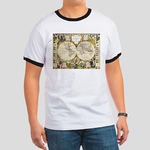World Map 1755 T-Shirt
