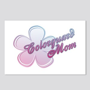 Colorguard Mom Flower Postcards (Package of 8)