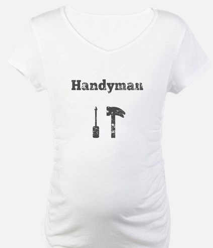 Handyman with Hammer and Screw Driver Shirt