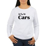 Plays With Cars Women's Long Sleeve T-Shirt