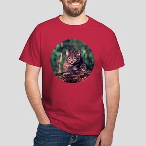 Bobcat Kitten Dark T-Shirt