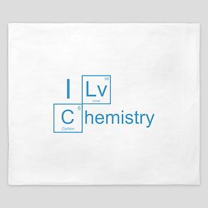 I Love Chemistry King Duvet