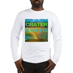 Damond Head Crater Hawaii Long Sleeve T-Shirt