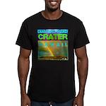 Damond Head Crater Hawaii Men's Fitted T-Shirt (da