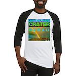 Damond Head Crater Hawaii Baseball Jersey