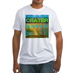 Damond Head Crater Hawaii Fitted T-Shirt