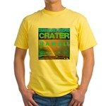 Damond Head Crater Hawaii Yellow T-Shirt