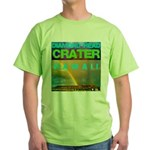 Damond Head Crater Hawaii Green T-Shirt