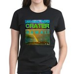 Damond Head Crater Hawaii Women's Dark T-Shirt
