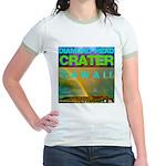 Damond Head Crater Hawaii Jr. Ringer T-Shirt