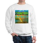 Damond Head Crater Hawaii Sweatshirt