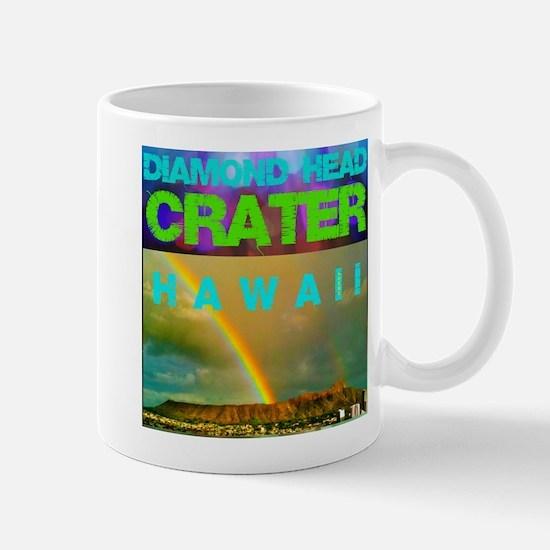 Damond Head Crater Hawaii Mug