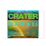 Damond Head Crater Hawaii Postcards (Package of 8)