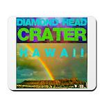 Damond Head Crater Hawaii Mousepad