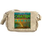 Damond Head Crater Hawaii Messenger Bag