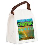 Damond Head Crater Hawaii Canvas Lunch Bag