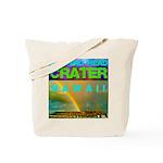 Damond Head Crater Hawaii Tote Bag