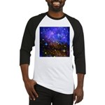 Galaxy Space Scene Graphic Baseball Jersey