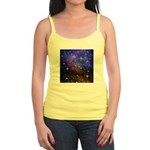 Galaxy Space Scene Graphic Jr. Spaghetti Tank