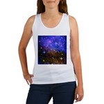 Galaxy Space Scene Graphic Women's Tank Top