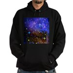 Galaxy Space Scene Graphic Hoodie (dark)
