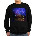 Galaxy Space Scene Graphic Sweatshirt (dark)