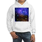 Galaxy Space Scene Graphic Hooded Sweatshirt