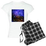Galaxy Space Scene Graphic Women's Light Pajamas
