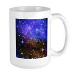 Galaxy Space Scene Graphic Large Mug