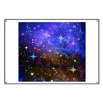 Galaxy Space Scene Graphic Banner