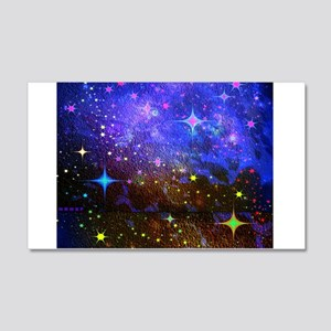 Galaxy Space Scene Graphic 20x12 Wall Decal