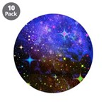 Galaxy Space Scene Graphic 3.5&Quot; Button (10 Pa
