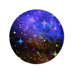 Galaxy Space Scene Graphic 3.5&Quot; Button (100 P