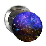 Galaxy Space Scene Graphic 2.25&Quot; Button
