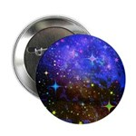Galaxy Space Scene Graphic 2.25&Quot; Button (100