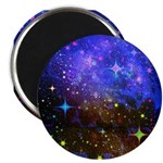 Galaxy Space Scene Graphic 2.25&Quot; Magnet (100
