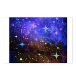 Galaxy Space Scene Graphic Postcards (Package Of 8
