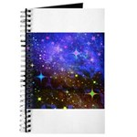 Galaxy Space Scene Graphic Journal