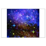 Galaxy Space Scene Graphic Large Poster