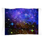 Galaxy Space Scene Graphic Pillow Case