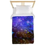 Galaxy Space Scene Graphic Twin Duvet