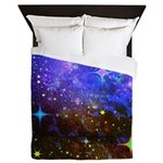Galaxy Space Scene Graphic Queen Duvet