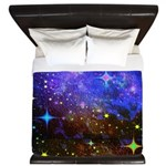 Galaxy Space Scene Graphic King Duvet