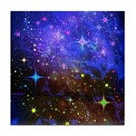 Galaxy Space Scene Graphic Tile Coaster