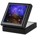 Galaxy Space Scene Graphic Keepsake Box