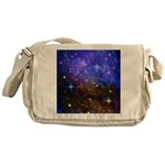 Galaxy Space Scene Graphic Messenger Bag