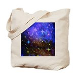 Galaxy Space Scene Graphic Tote Bag