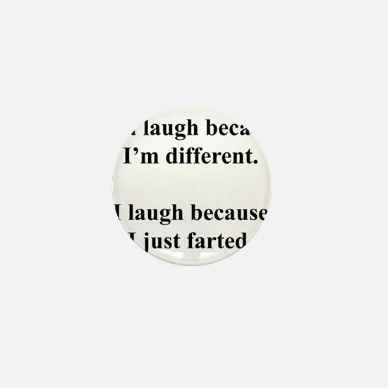 Haha Mini Button