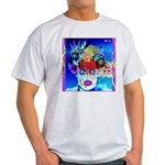 Fabulous Demented Diva Clown Light T-Shirt