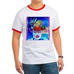 Fabulous Demented Diva Clown Ringer T
